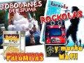 para sus FIESTAS Brincolin , Rockola, Humo, Luces,  y más!!.